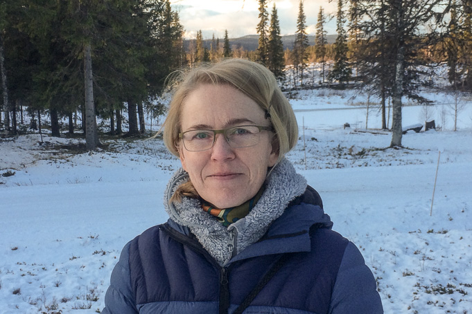 Åsa Össbo, artikelförfattare och historiker vid Várdduo Centrum för samisk forskning