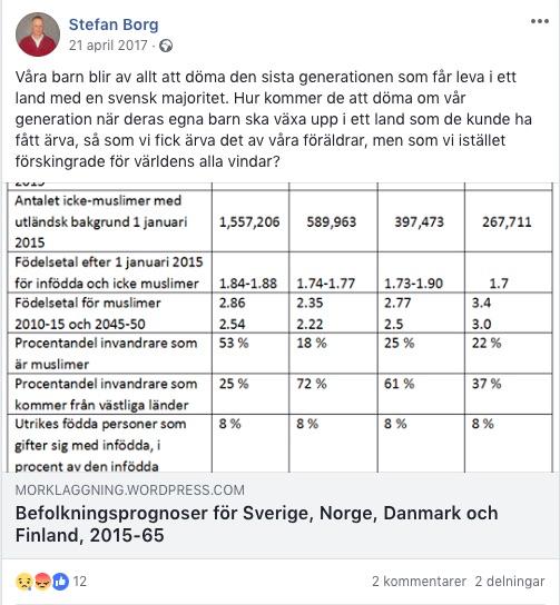 Det lutar at att svenskarna ber om nad