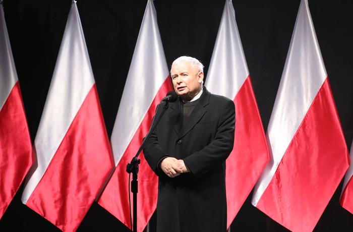 Lag och Rättvisas partiledare Jarosław Kaczyński.