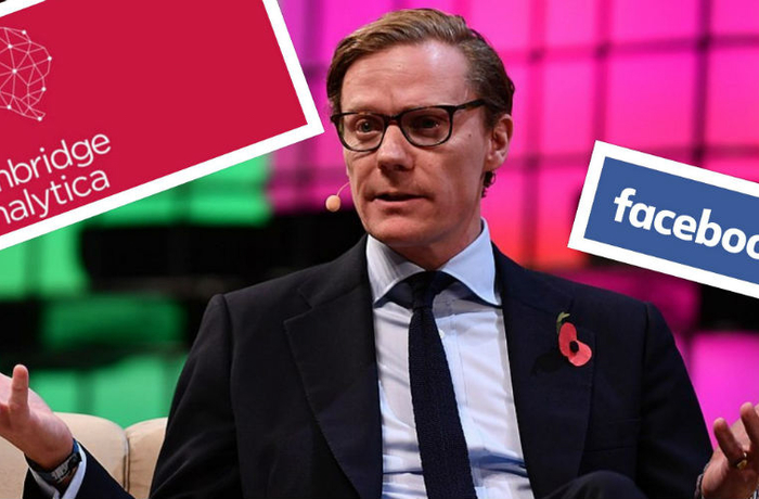 9 November 2017; Alexander Nix, CEO, Cambridge Analytica, on Centre Stage during day three of Web Summit 2017 at Altice Arena in Lisbon.