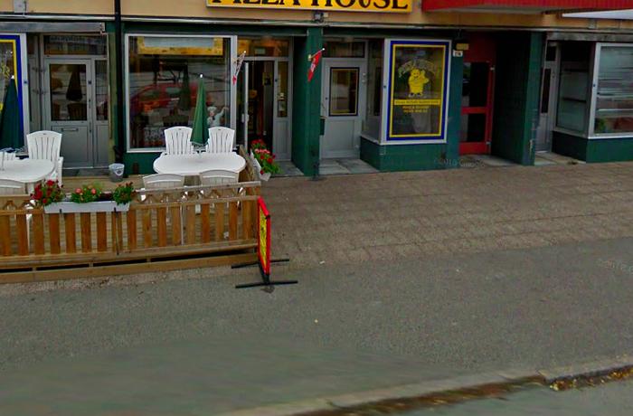 Pizzeria Titanic i Ludvika.