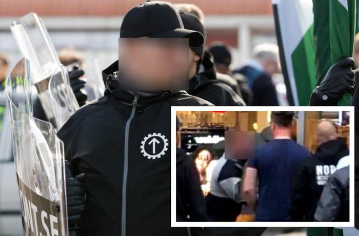 Aktivist från Nordiska motståndsrörelsen, misstänkt för misshandel och hets mot folkgrupp.
