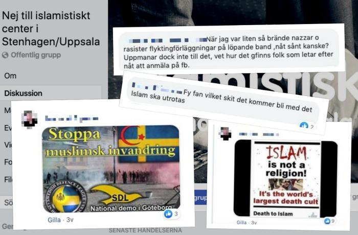Islamofobi och konspirationsteorier sprids i grupp som styrs av SD:s politiker i Uppsala.