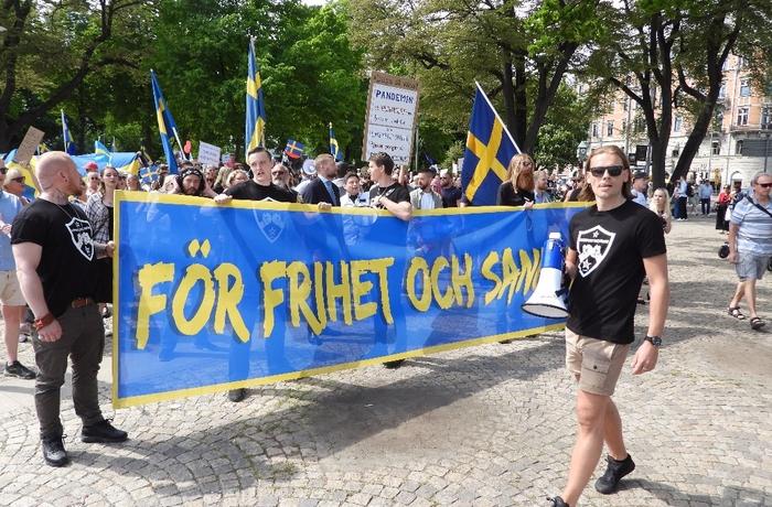 Coronaprotest 6 juni