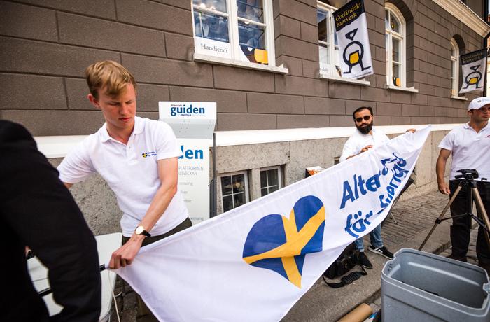 Alternativ för Sverige ska hålla torgmöte under Almedalsveckan 2018.