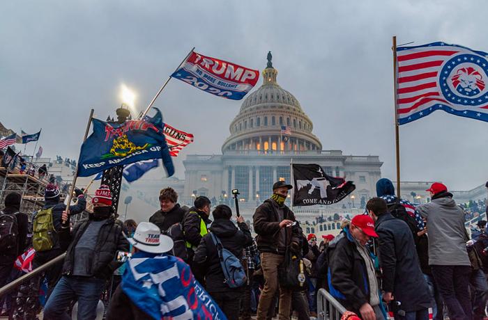 Stormningen av Kapitolium, USA, 6 januari 2021