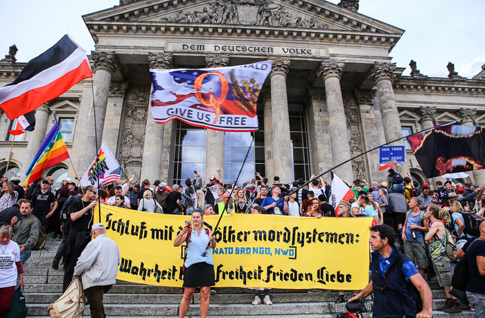 Demonstration i Berlin