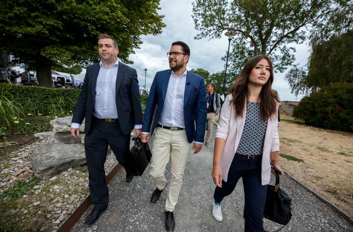 Jimmie Åkesson, Yasmine Eriksson, Sverigedemokraterna