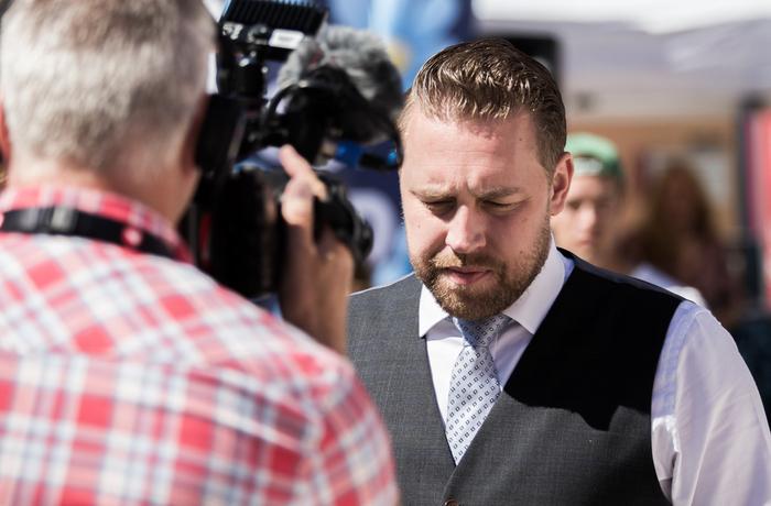 Mattias Karlsson/Sverigedemokraterna.