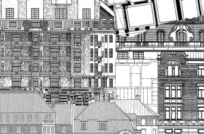 Planskisser stadsbyggnadskontorets arkiv