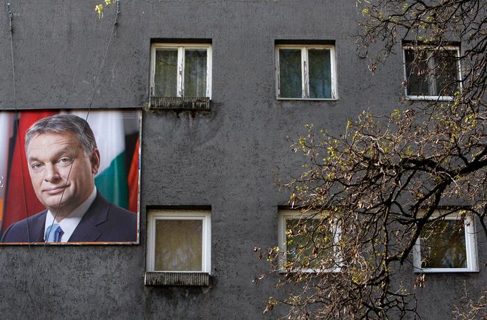Valpropaganda för premiärminister Viktor Orbán