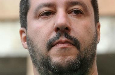 Ledaren för Lega, Matteo Salvini, har utropat sig till segrare i det italienska valet. Undersökning visar att främlingsfientliga partier fick draghjälp av ryskägda medier i valrörelsen. Foto: Niccolò Caranti