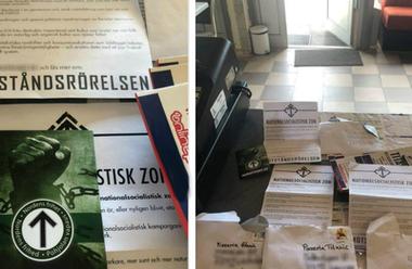 Pizzeria har fått motta hot efter att de vägrat servera nazister.