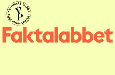 Faktalabbet, Publishingpriset 2020, Årets informationssajt