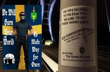 Propaganda i Sverige för Green Brigade