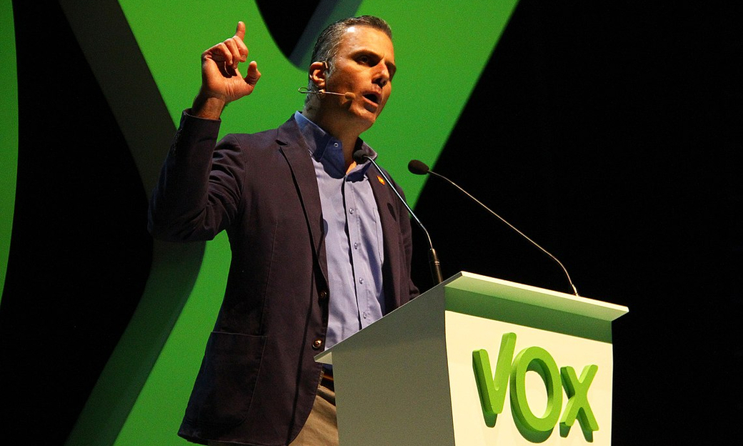 Javier Ortega Smith, VOX