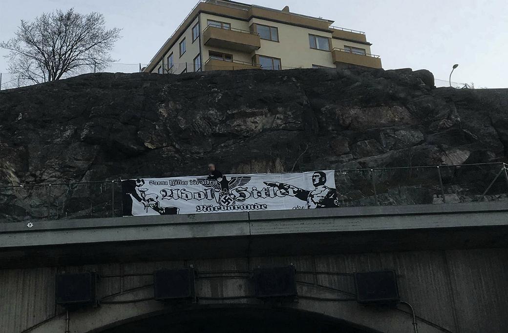Nordiska motståndsrörelsen, hets mot folkgrupp