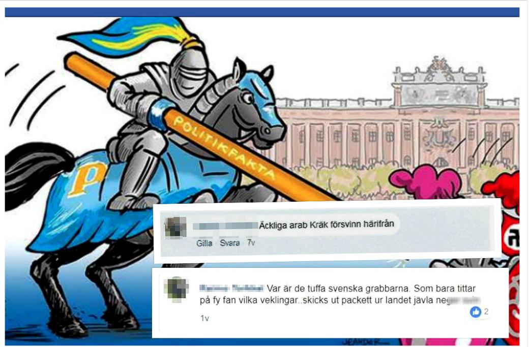Man döms för hets mot folkgrupp efter inlägg i Facebookgrupp.