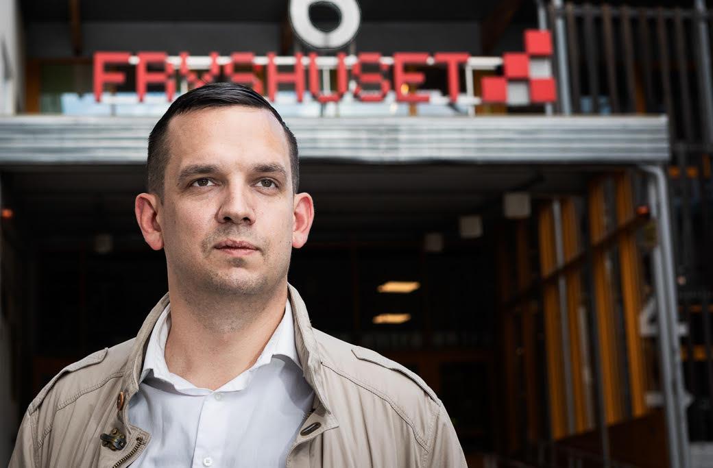 Exits verksamhetsansvarig Björn Berglund