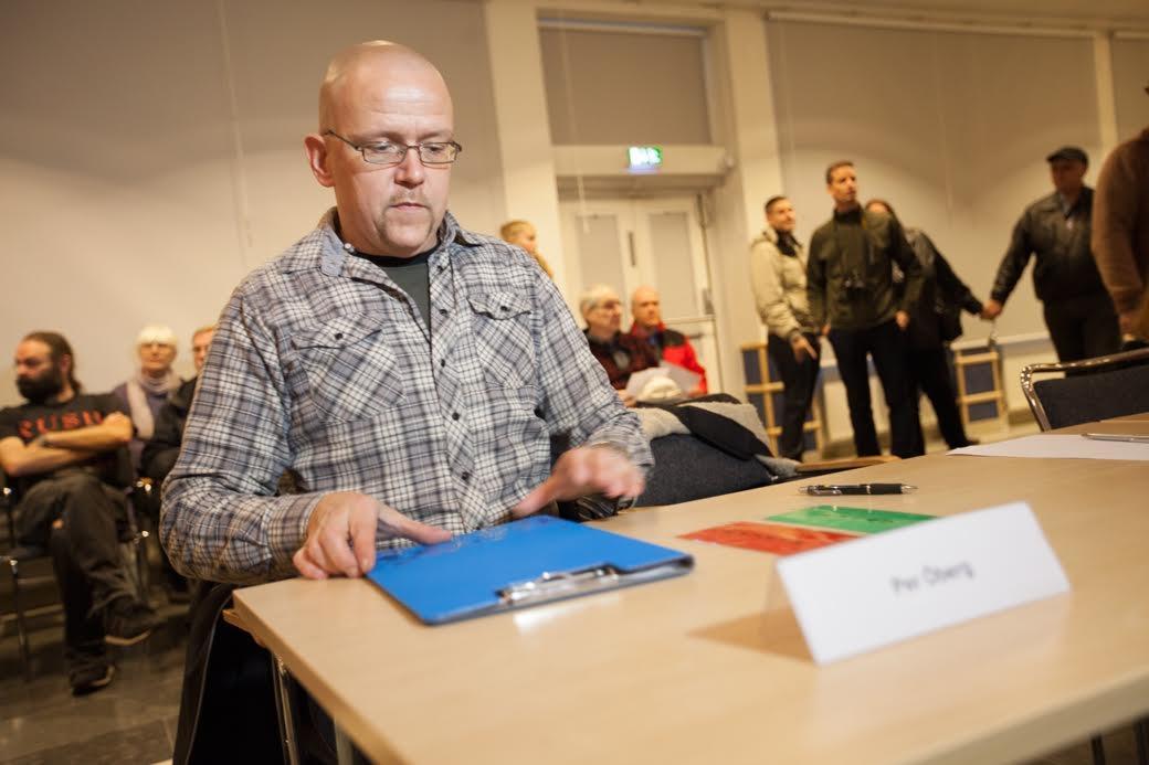 Pär Öberg, Nordiska motståndsrörelsen, Ludvika, kommunfullmäktige