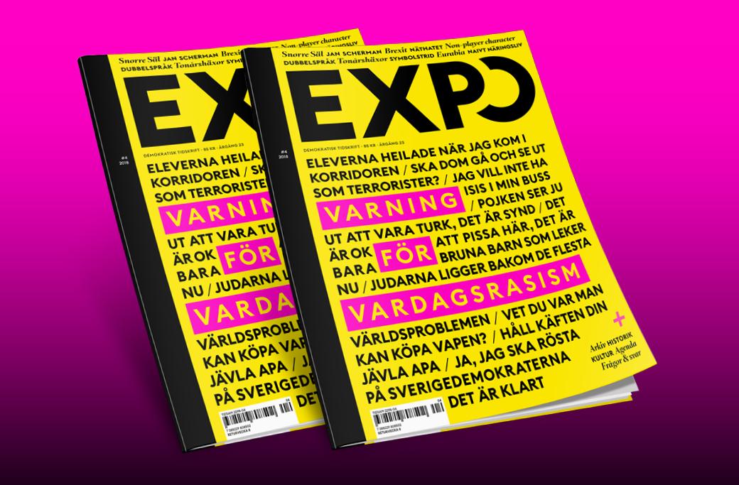 Tidskriften Expo #4-2018