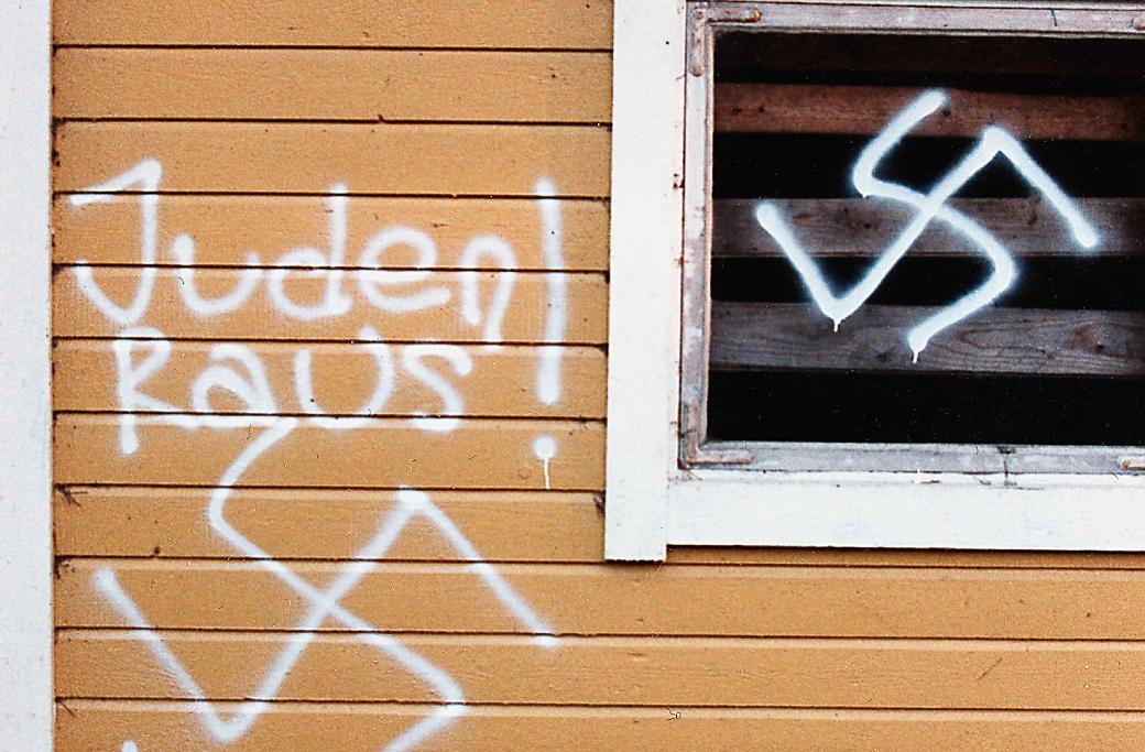 Antisemitiskt klotter