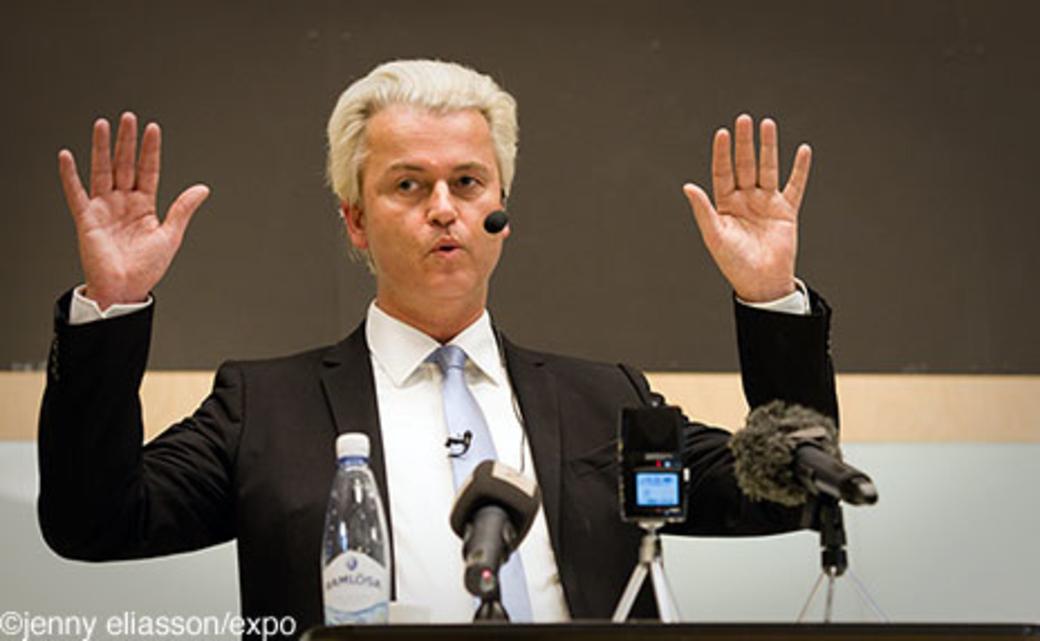 Wilders backar infor valet