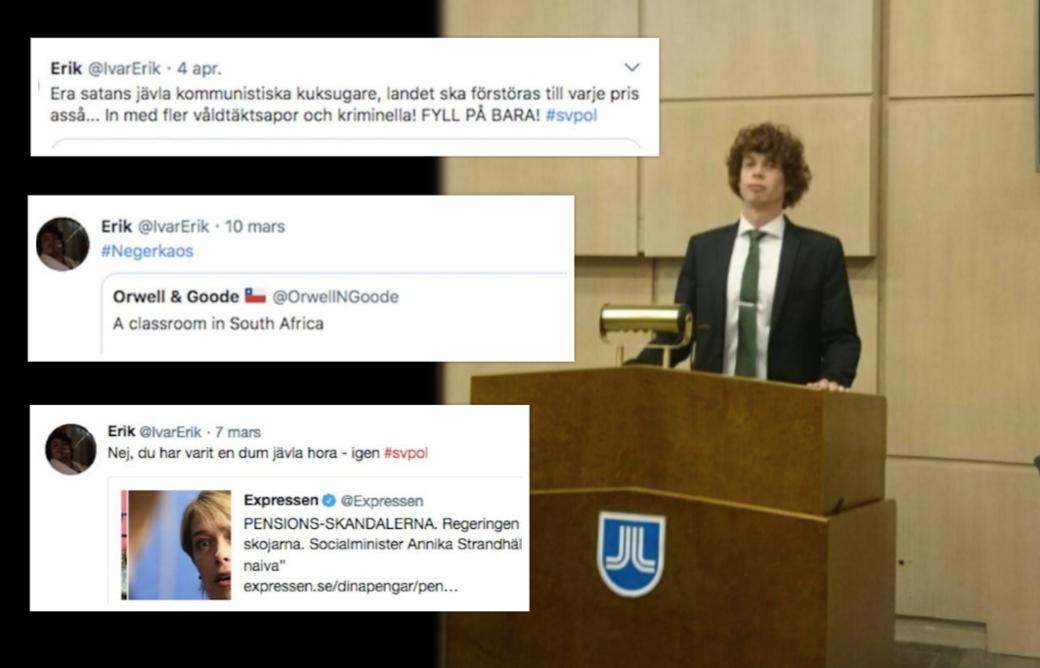 KD-politiker sprider hat på nätet