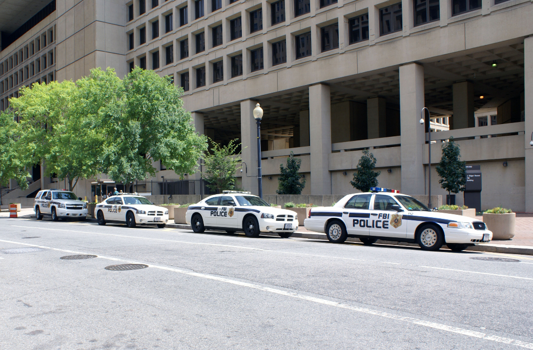 FBI:s högkvarter i Washington DC.