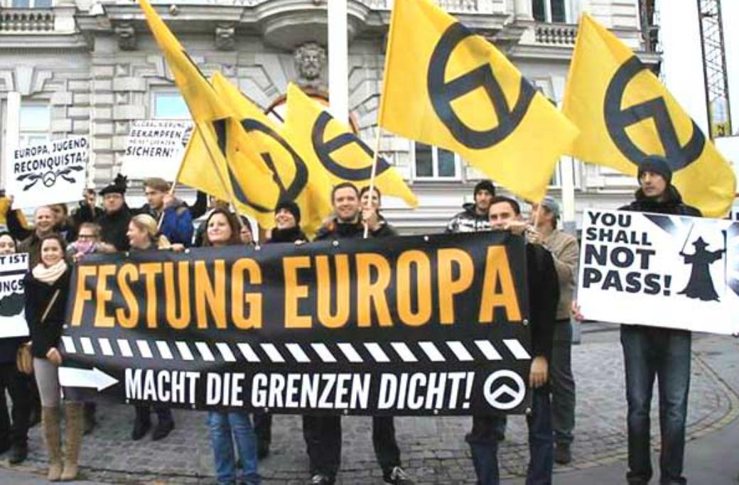 IBÖ demonstrerar i Wien 2013