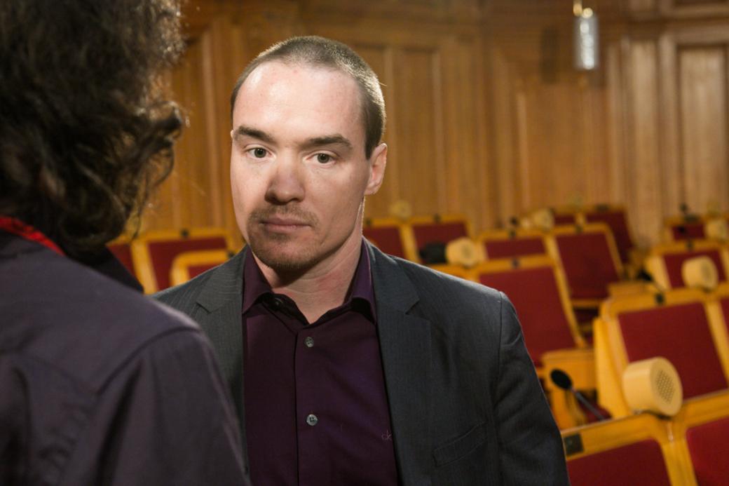 Kenth Ekeroth i Riksdagen 2013.