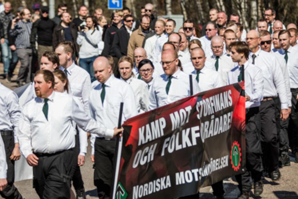 Nordiska motståndsrörelsen i Falun