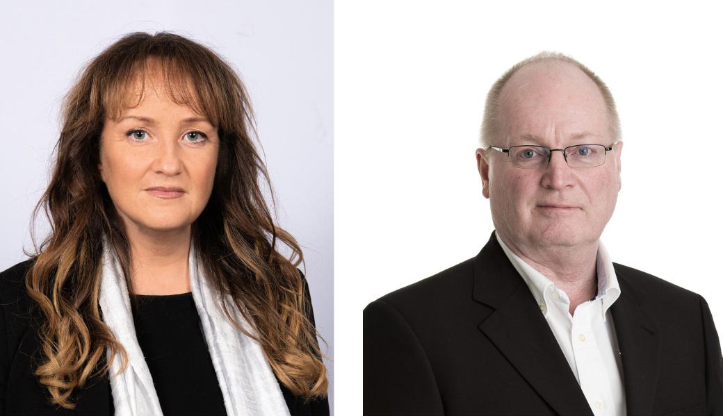 Zandra Petersson och Thomas Olin (SD Mölndal)