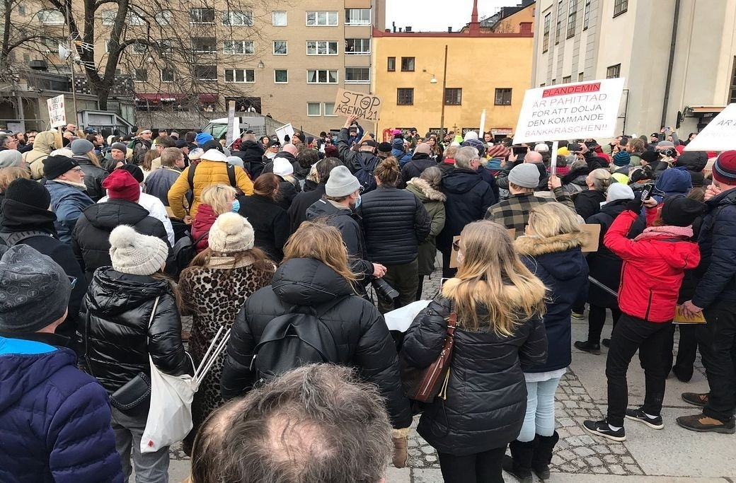 Tusenmannamarschen Stockholm
