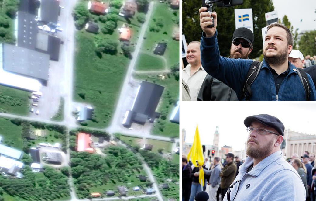 Vit makt-gruppen Det fria Sveriges ledning