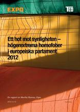 Högerextrema homofober i europeiska parlament 2012