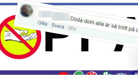 23-årig man uppmanande på Facebook till mord på romer.