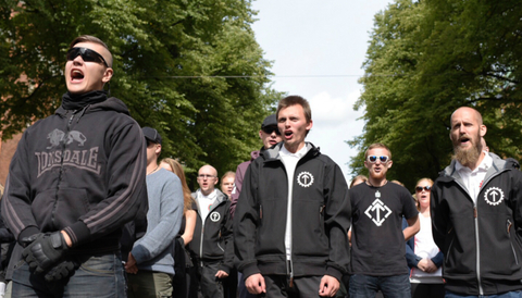 NMR-demonstration i Stockholm 180825