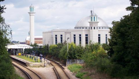 Bait-ul-Futuhmoskén i London.