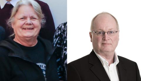SD-politikerna Mari Herrey och Thomas Olin