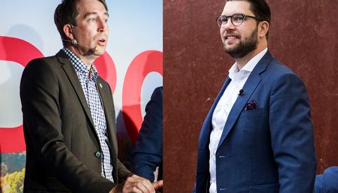 Richard Jomshof och Jimmie Åkesson