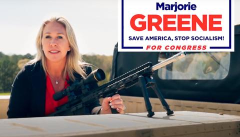Republikanen Marjorie Greene invald i USA:s kongress