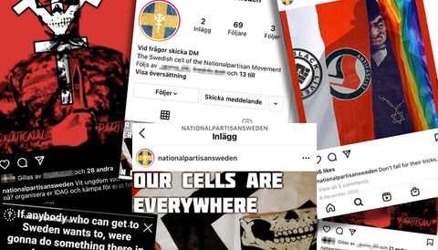 National Partisan Movement rekryterar via Instagram
