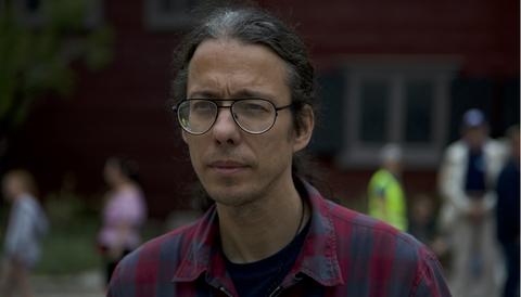 Dan Park i Almedalen 2018.