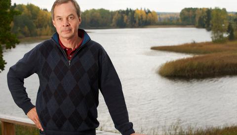 Skogsmiljardären Karl Hedin talar på Alternativa bokmässan