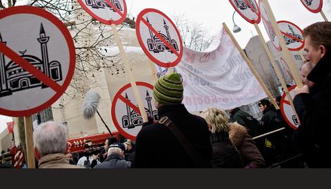Counterjihadrörelsen - en del av den antimuslimska miljön