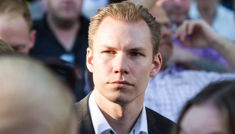Markus Wiechel under Almedalsveckan 2015.