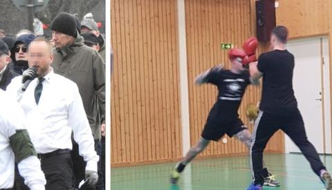 NMR tränar i kommunens lokaler i Ludvika