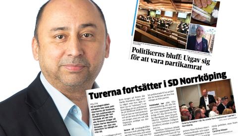 Darko Mamkovics (SD) kokainskandal har utlöst en konflikt i partiet